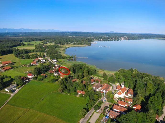 Starnberger See - wunderschöne Neubau- Villa mit Seeblick zu verkaufen