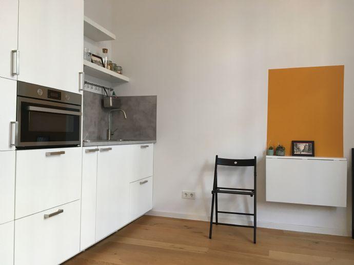 Ideal für Pendler - Sehr hochwertiges, voll möbliertes Apartment in der Düsseldorfer Innenstadt