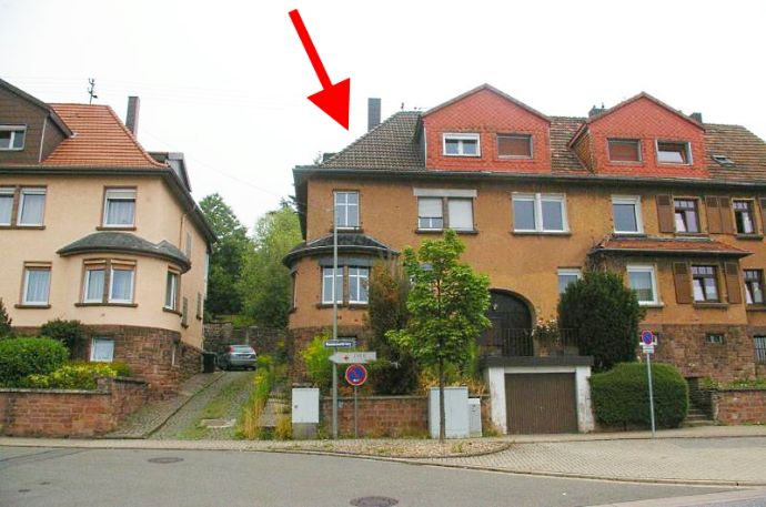 Sanierungsbedürftiges Reihenendhaus in Ottweiler