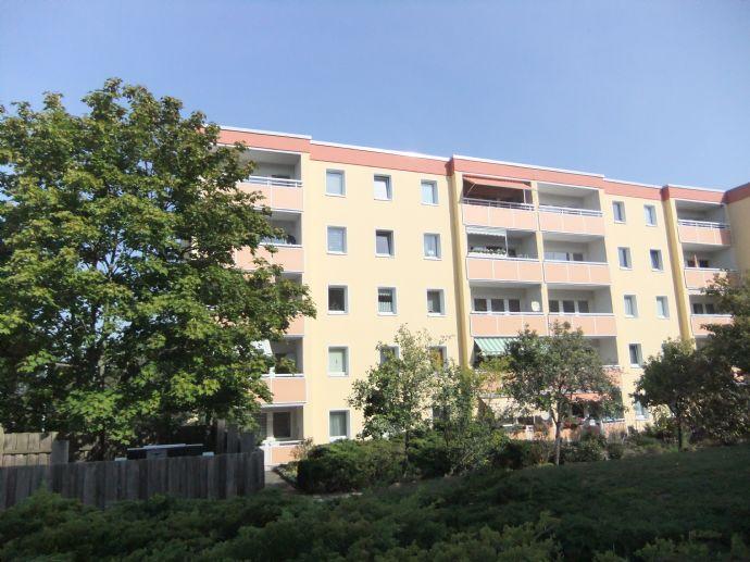 Ruhig gelegene 2-Raum-Wohnung mit Balkon