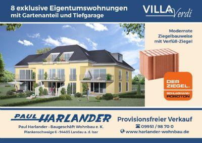 *NAGELNEU!!!* Exclusive Wohnanlage mit 8 Wohnungen mit Gartenanteilen und 8 Tiefgaragenplätzen in Bestlage Trudering!