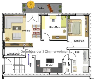 3 zimmer wohnung mieten gro gerau 3 zimmer wohnungen mieten. Black Bedroom Furniture Sets. Home Design Ideas