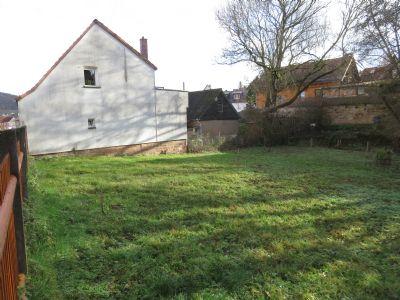 Erschlossene Baulücke in ruhiger, zentraler Wohnlage von Bad Berka