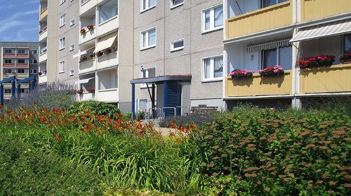 4-Raum-Wohnung mit Balkon am Kupferberg