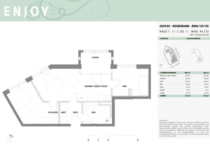 Herrliche 3-Zi-Dachgeschoß-Wohnung zur Westseite