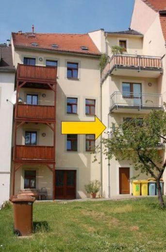 Ruhige 2-Raum Wohnung mit Balkon zum Stadtpark