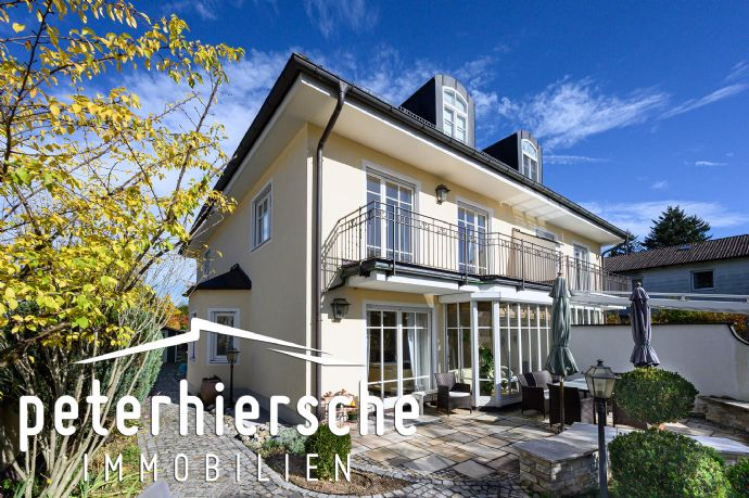 Bezaubernde Doppelhaushälfte in mediterranem Stil