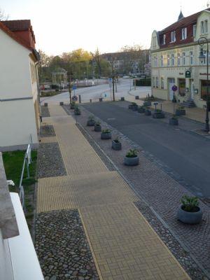 Straße vor dem Haus