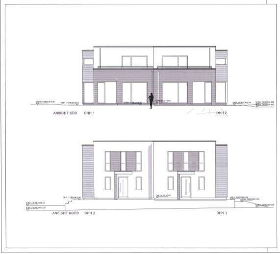 Exklusive Neubau-Doppelhaushälfte in Topp Lage von Sasel