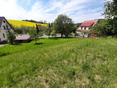 Sonniges Grundstück in Steinbach -Hallenberg-Ortsteil Altersbach
