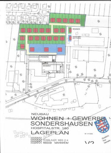 Baugrundstück für Wohnbebauung und Gewerbe