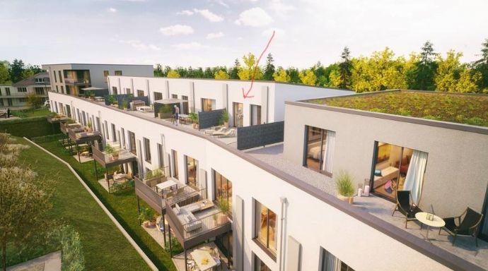 Erstbezug: Hochwertige 3-Zimmerwohnung mit großer Südterrasse und mit Blick über Trier in absolut ruhiger Lage