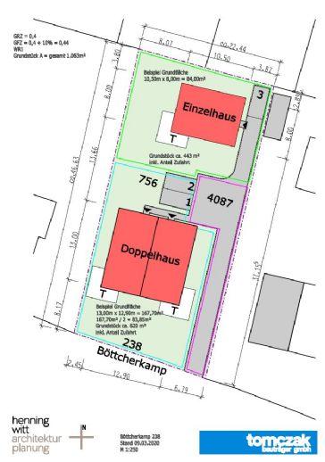 Baugrundstück für ein Enfamilienhaus mitten im Grünen
