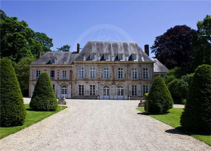 Glamorous Chateau Near Paris Burg Schloss Behericourt 2ndjm43