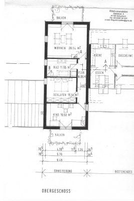 Grundriss Obergeschoss Haus 2