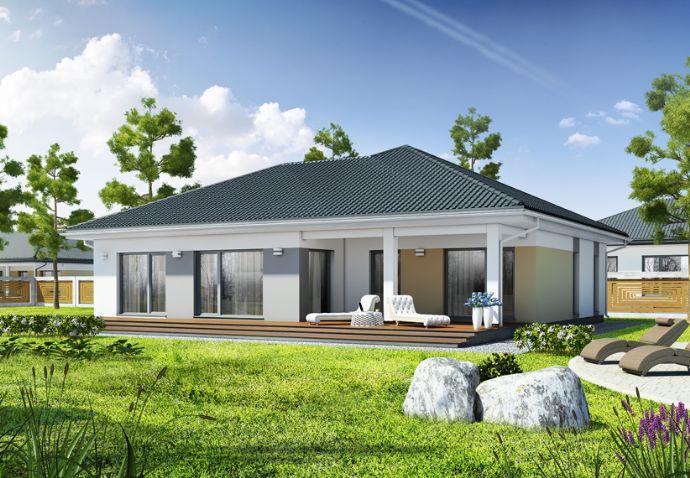 Traumhafter Bungalow mit 125 m², bezugsfertig, alles auf einer Ebene auf einem Grundstück Ihrer Wahl