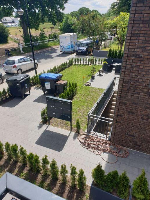3-Zi-Wohnung mit Terrasse und Garten
