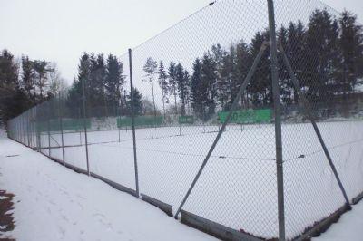 Tennisspätze des Tennisvereins