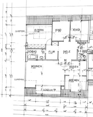 3,5-Zimmer-Wohnung mit Balkon in Achim!