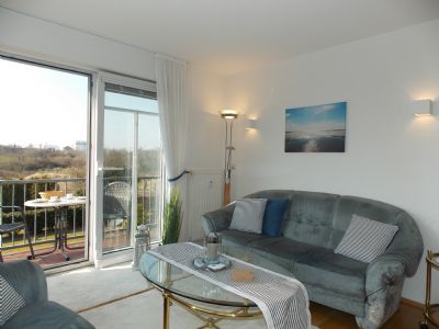 Whg. Seehund im Hus Strandloperke - Traumhafter Kurpark-Blick mit zwei Balkonen