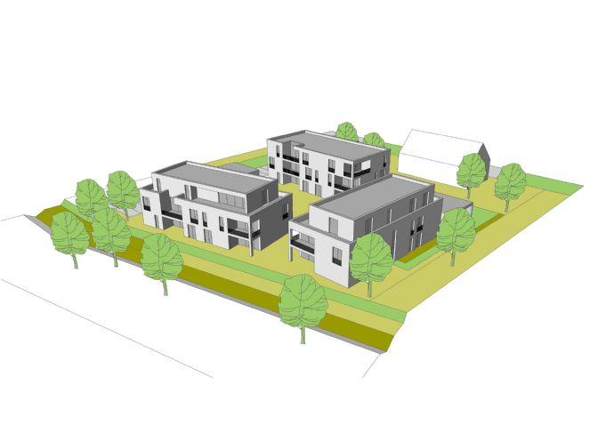 Moderne helle Neubau-Eigentumswohnungen mit Blick ins Grüne