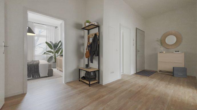 3-Raum-Altbauwohnung in einem top sanierten Gründerzeithaus in Dresden Pieschen