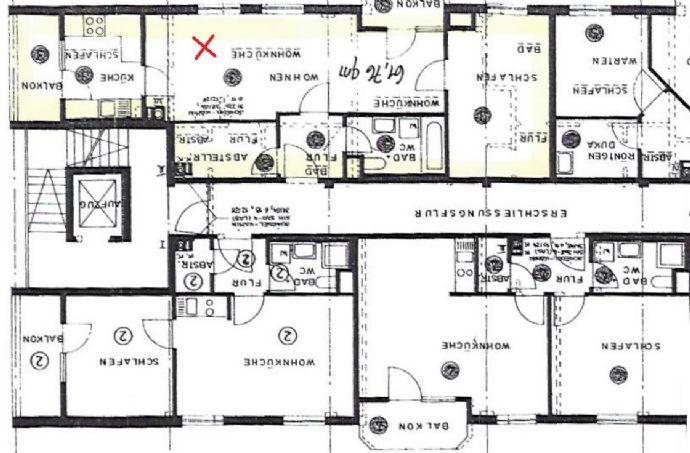 Barrierefreie Wohnung im Herzen von Wasseralfingen- tolle Infrastruktur und ruhiges Mehrfamilien- Haus