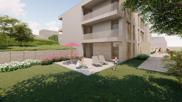 Baubeginn erfolgt: Tolle EG Wohnung mit Terrasse und Garten