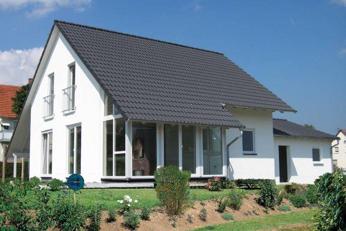 Wintergartenhaus, massiv! Inkl. Grundstück sowie sämtlicher Baunebenkosten und Hausanschlussgebühren in Jungnau