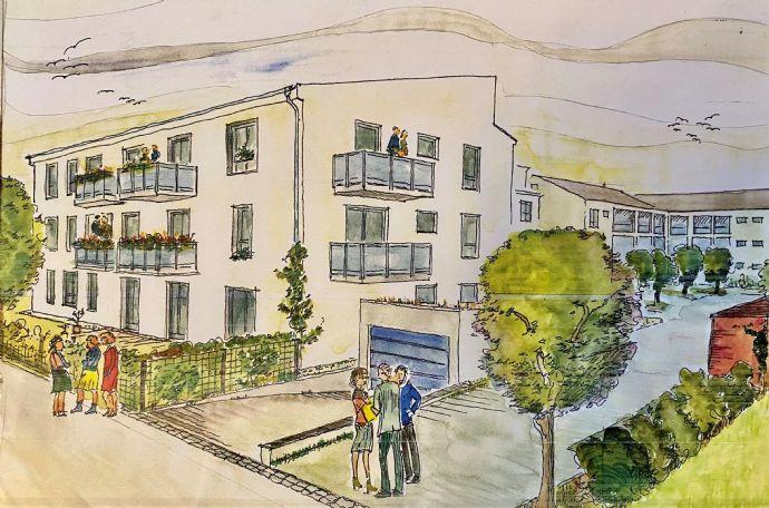 Erstbezug: 3-Zimmer-Wohnung mit Gartenanteil  2 Hobbyräumen