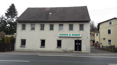 Solides Wohn- und Geschäftshaus in Mohorn - gelegen an der Freiberger Str. - mögliche Aufteilung für zusätzliches Baufeld