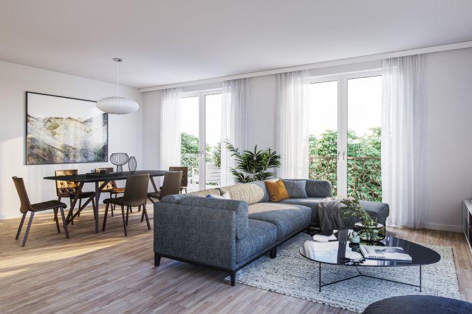 KFW 55 Zuschuß - TOP  Wohnung mit Terrasse