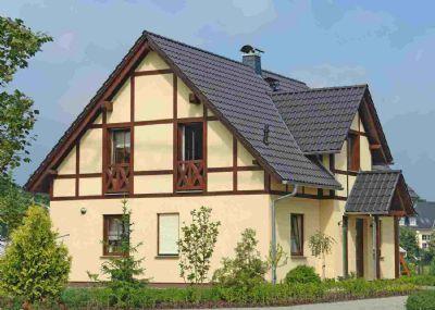 Massives Landhaus im Fachwerkstil in der Nähe von Calau - Neubau