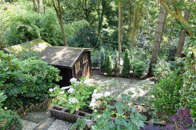 Garten und Gartenhaus