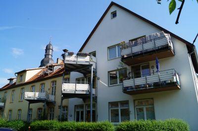 Gemütliche 2-Zimmer Wohnung mit Loggia, barrierefrei im ehemaligen Kloster