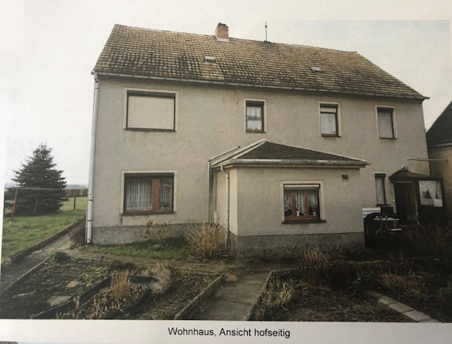 Objekt 446: Reserviert ! Wohnhaus mit Nebengelass in Olganitz