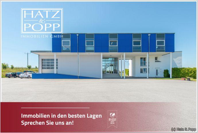 Hatz & Popp - Repräsentatives Bürogebäude mit Hallenfläche