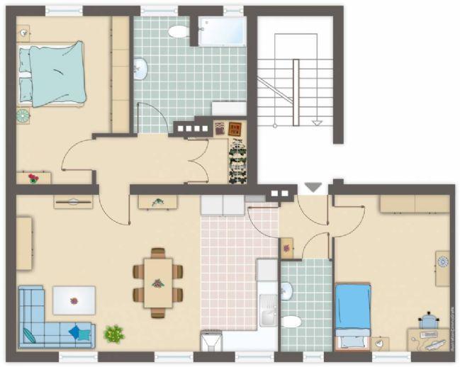 Es wird traumhaft schön! Amerikanische Wohnküche, Erstbezug nach Sanierung
