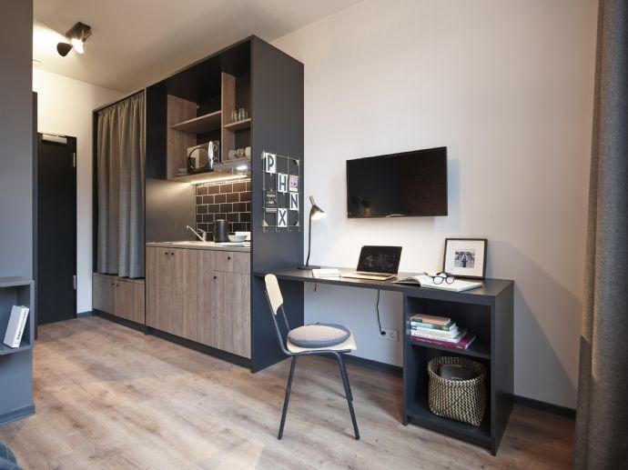 Helles möbliertes Apartment 20qm Hamburg/Harburg