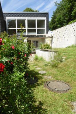 Rückansicht vom Garten