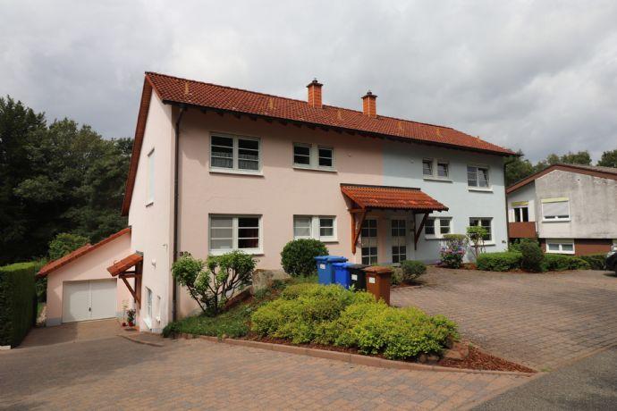 Exklusives Ein-Zweifamilienhaus (ELW) in einem bevorzugten Stadtteil von Pirmasens/Ruhbank