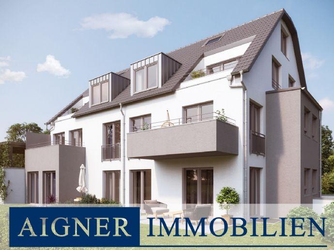 AIGNER - Großzügige 3-Zimmer Ergeschosswohnung in Aubing