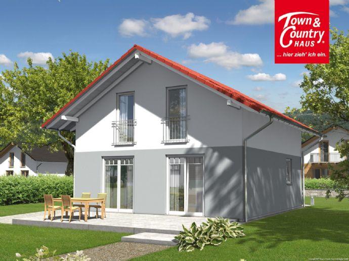 ** Massivhaus in Hohentengen ** Raumwunder 100 Süd von Town & Country Haus