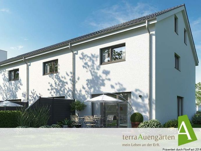 terra130 - Reiheneckhaus mit 736m² Grundstück für Gartenliebhaber