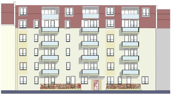 *** Projektiertes Grundstück für ein Wohnhaus mit Tiefgarage ***