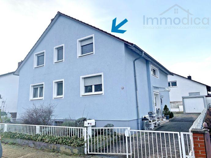 Kernsanierte 4 ZKB mit Balkon und Garage in ruhiger Lage von Großniedesheim