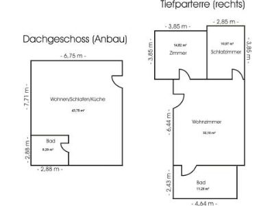 DG-Anbau/Tiefparterre rechts
