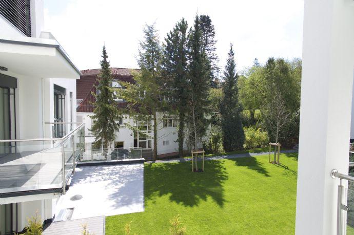 Luxuriöse Zwei - Zimmerwohnung in Bad Homburg am Park