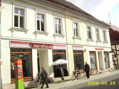Perleberg Ladenlokale, Ladenflächen