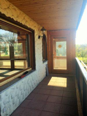 Balkon mit Zugang zum Wintergarten
